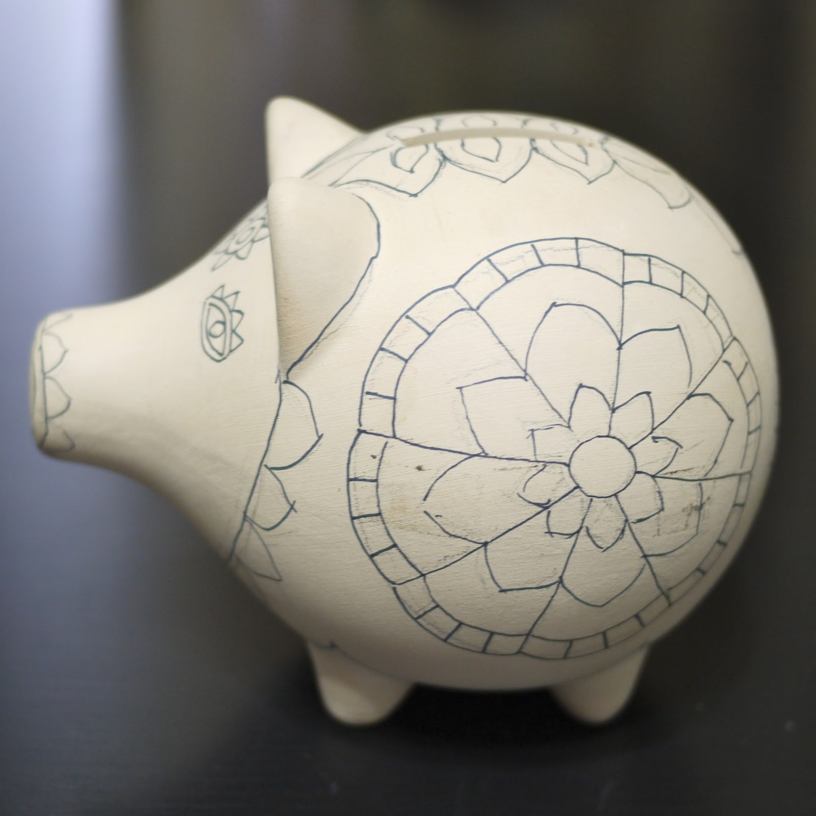Spring into savings daily dose of art - Farting piggy bank ...