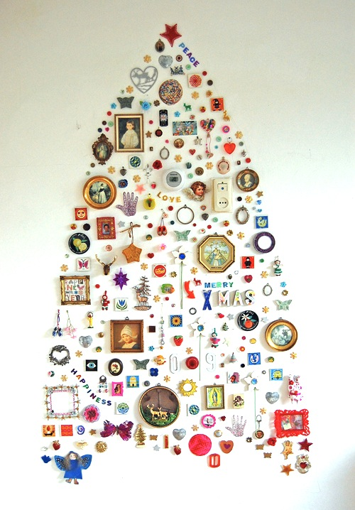 Christmas Crafts 4: Make Your Own Christmas Tree | DAILY DOSE OF ART
