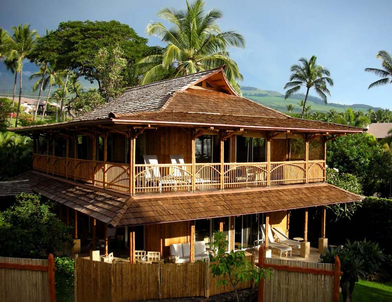 The Bamboo House 3 The Great Bamboo Home Builders