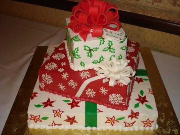 Christmas Present Cake Ideas