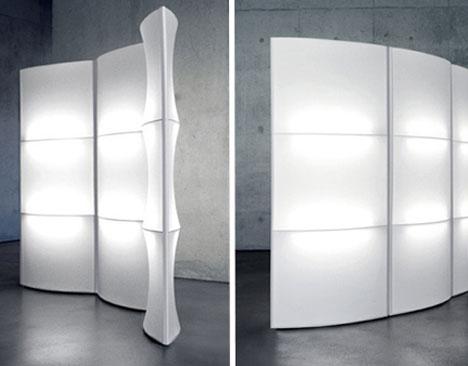 Dedon Room Divider White