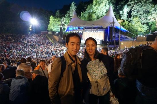 Berlin Philharmoniker-concert at the park