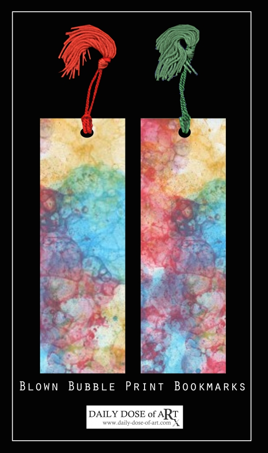 bookmark with tassels
