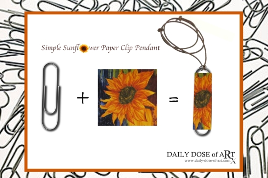 DDoA pendant idea -sunflower