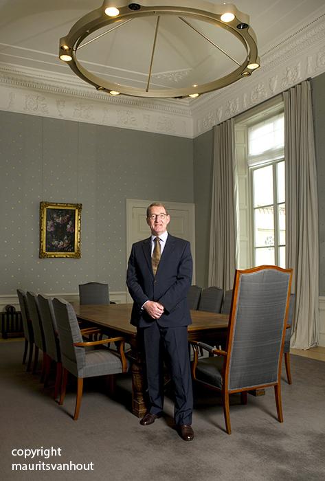Jan Franssen, lid Raad van State gefotografeerd voor VSG magazin