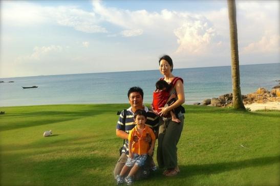 bintan-hiromi and family