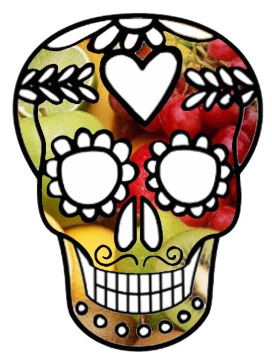 fruitful skull