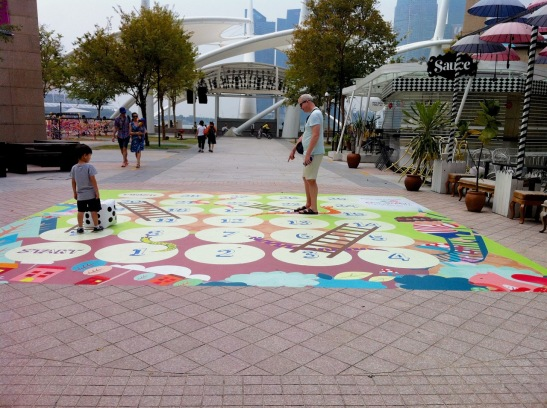 life-size snakes & ladders
