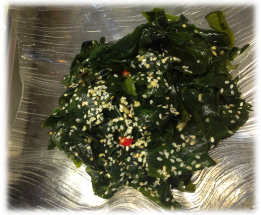 Wakame salad of Green Dot