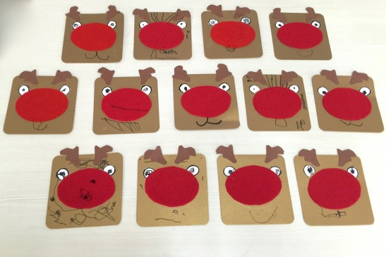 rudolph-cards only