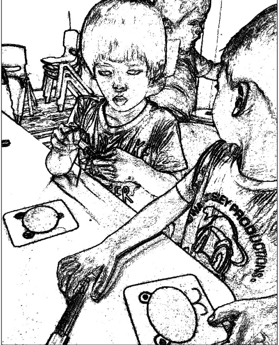 rudolph-kids at workCARD-SKETCH 3