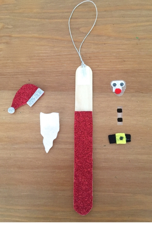 stick santa activity kit