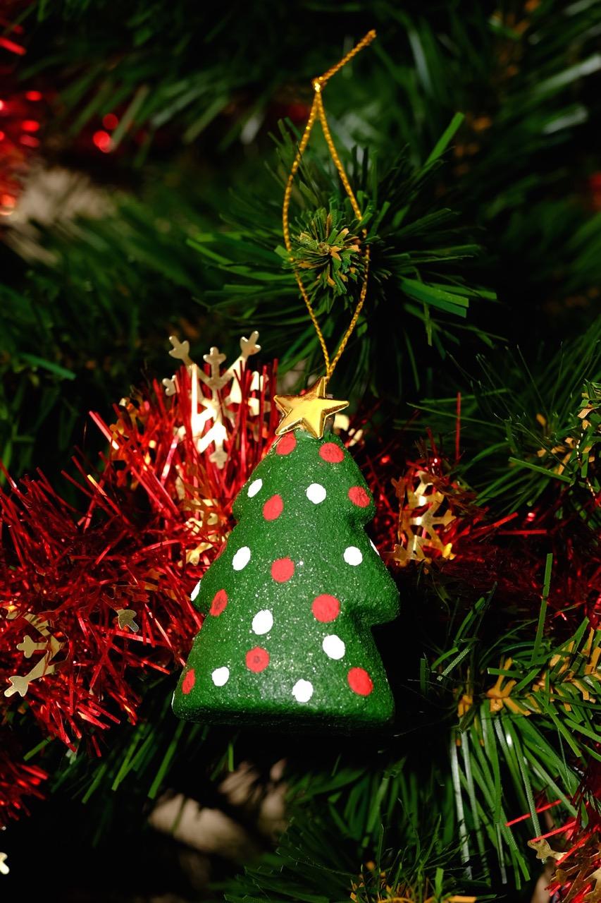 Christmas Crafts 2 Polka Dot Tree Amp Card Daily Dose Of Art