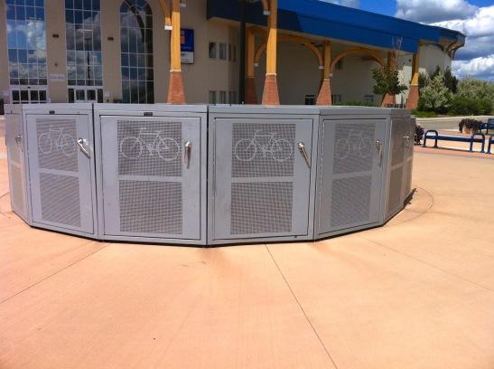FSJ bike -secured parking 1