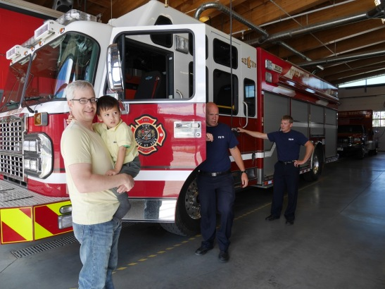 2 young FSJ firefighters