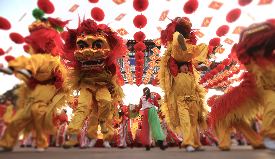 Dose #37 – CNY Lion Dance | DAILY DOSE OF ART