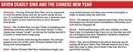 seven deadly sins & CNY